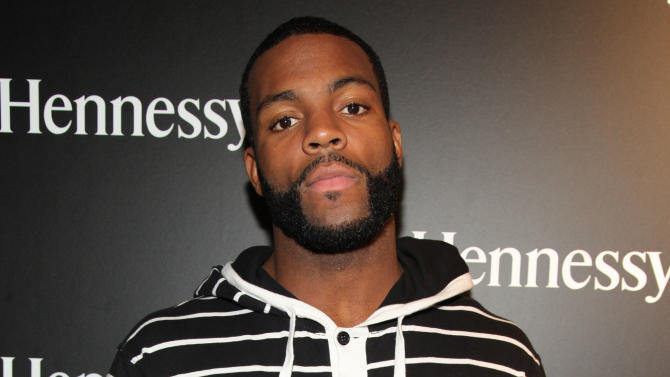 """Braylon Edwards is seen at the Hennessy VS Presents """"Never Stop. Never Settle."""" Super Bowl 2013, on Sunday, Feb. 4, 2013 in New Orleans. (Photo by Omar Vega/Invision for Hennessy/AP Images)"""