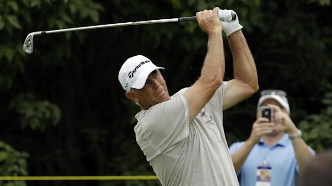Tom Lehman leads Champions Tour event