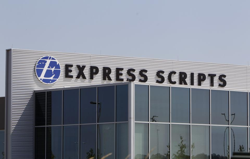 Acquisition boosts Express Scripts profit 39 pct.