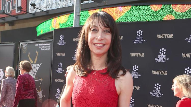 Actress Illeana Douglas at the 2013 TCM Classic Film Festival's Opening Night Gala at the TCL Chinese Theatre on Thursday, April 25, 2013 in Los Angeles. (Photo by Alexandra Wyman/Invision/AP)