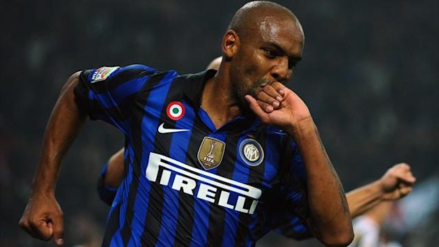 FOOTBALL 2012 Inter Milan - Maicon