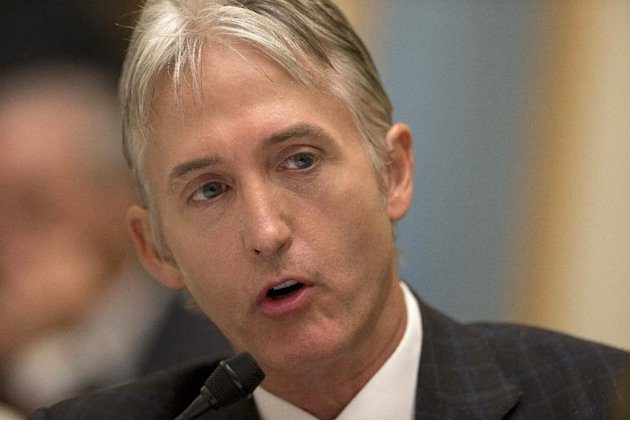 House Judiciary Committee member Rep. Trey Gowdy, R-S.C., sponsor of the Strengthen and Fortify Enforcement Act, speaks on Capitol Hill in Washington, Tuesday, June 18, 2013, during committee's hearin