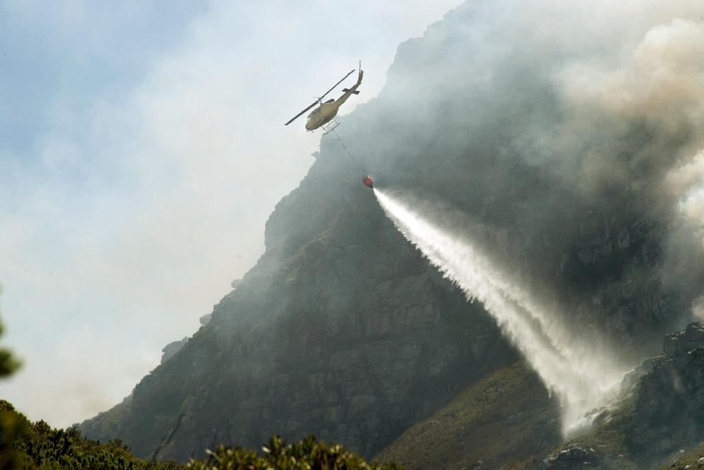Raging wildfires destroy homes, hotel near Cape Town
