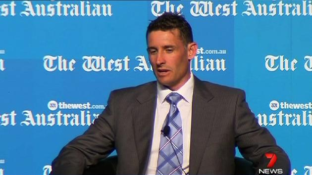 Hussey lashes out at rumours