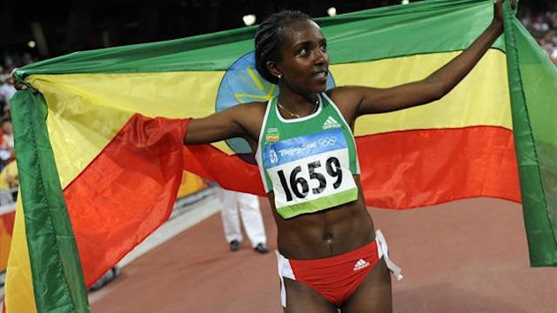 Tirunesh Dibaba of Ethiopia (Reuters)