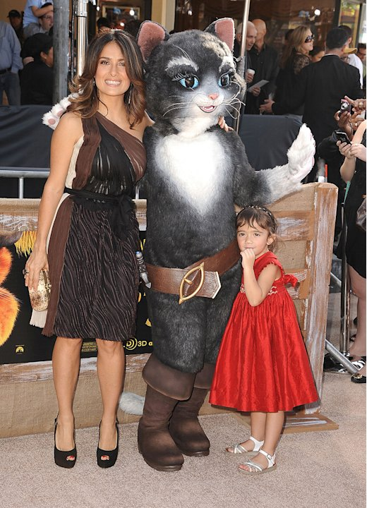 Puss in Boots 2011 LA Premiere Salma Hayek