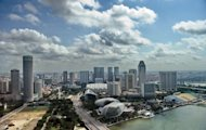 A general view of Singapore shows part of the city&#39;s business district in 2010. Self-made Australian mining tycoon Nathan Tinkler is to move to Singapore hoping to increase his wealth by being closer to Asia&#39;s money markets, reports said Saturday