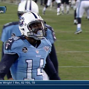Tennessee Titans wide receiver Michael Preston 8-yard touchdown