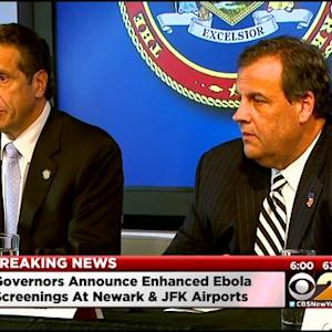 New York, New Jersey Set Up Mandatory Quarantine Requirement Amid Ebola Threat