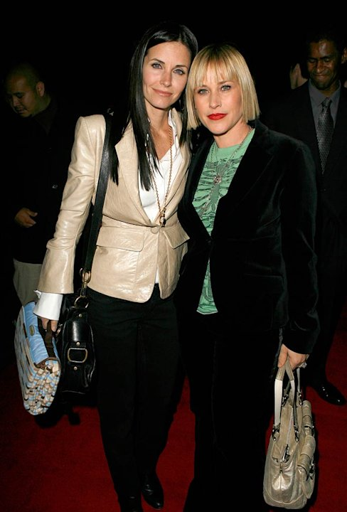 Courteney Cox-Arquette and Patricia Arquette at &quot;The Tripper&quot; Los Angeles Premiere. 