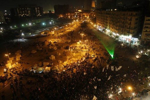 <p>Egyptian protesters throng Tahrir Square in Cairo to call for the fall of the president, on January 24, 2013. Huge crowds were expected to demonstrate in Egypt on Friday for the second anniversary of the revolution that ousted Hosni Mubarak and brought in an Islamist government, at a time of political tensions and economic woes.</p>