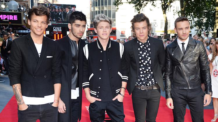 One Direction: This Is Us - World Premiere - Inside Arrivals