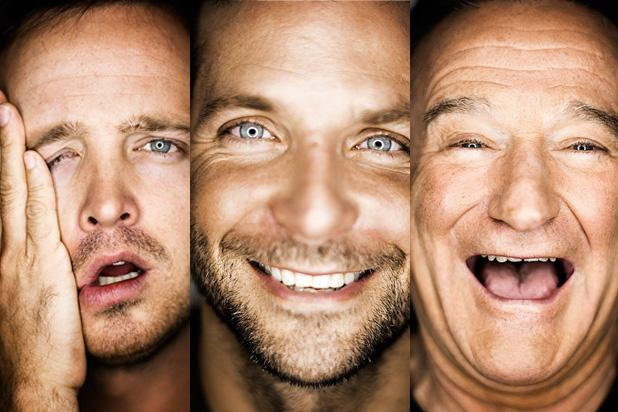 Aaron Paul, Bradley Cooper, Robin Williams Reveal Best Advice Ever in Esquire's 80th Issue (Photos)