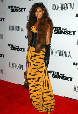 Shakara Ledard at the Hollywood premiere of New Line Cinema's After the Sunset