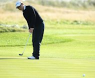 Lydia Ko of New Zealand putts at the Royal Liverpool Golf Club in Hoylake, northern England, on September 13, 2012. Ko moved within sight of a historic second US LPGA win at the age of just 15 when she shot 70 to share the Women&#39;s Australian Open third round lead with Shin Ji-Yai on Saturday