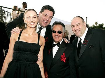 Drea De Matteo, Steven Schirripa, Tony Sirico and James Gandolfini