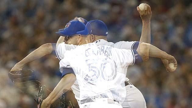 Prime Minister of Canada Stephen Harper endorses Blue Jays' Steve Delabar for All-Star Game