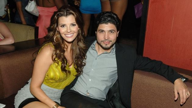 Ali Landry and Alejandro Monteverde attend the first hot moms party at TAO Nightclub in The Venetian Hotel and Casino Resort in Las Vegas on May 10, 2008 -- WireImage