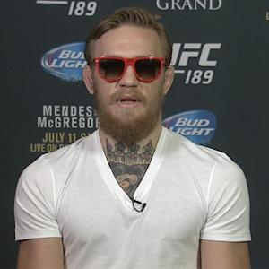 Conor McGregor's $3 million bet