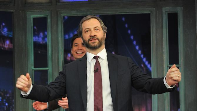 """Judd Apatow Visits """"Late Night With Jimmy Fallon"""""""