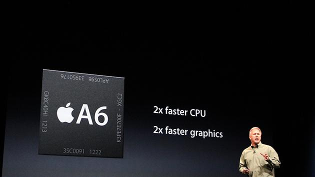 Faster performance. A6 chip.