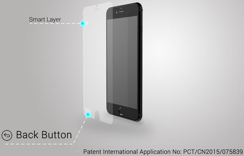 This screen protector gives your iPhone an invisible back button