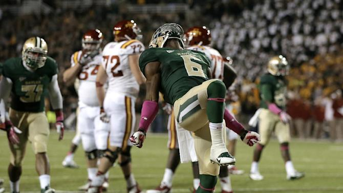 Baylor closes on Ohio State in BCS standings