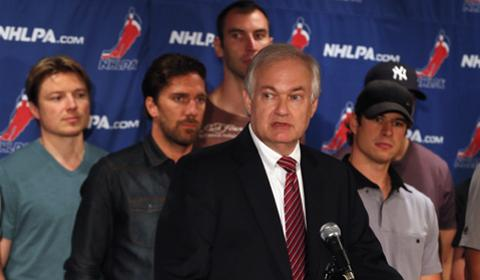 NHLPA boss Don Fehr Getty Images