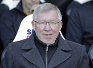 Manchester United's Scottish manager Alex Ferguson looks on before the English Premier League football match between Newcastle United and Manchester United at Sports Direct Arena in Newcastle. Sir Alex believes Manchester United are ready to pile the pressure on Premier League leaders Chelsea after sweeping to a 3-0 victory over Newcastle at St James' Park