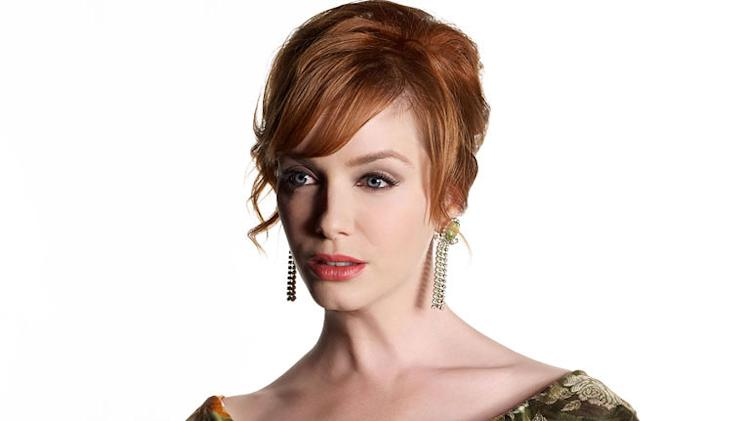 "Christina Hendricks stars as Joan Halloway in ""Mad Men."""