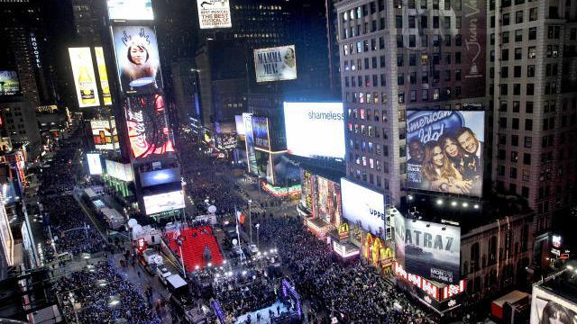 Times Square security ramped up ahead of New Year's