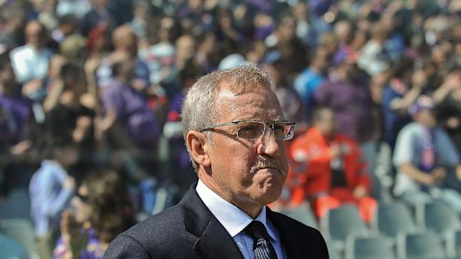 Luigi Del Neri, pictured on April 17, 2011, is named coach of Verona