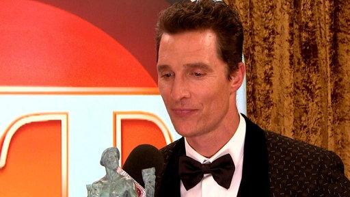 Why Didn't McConaughey Thank Anyone in SAG Speech?