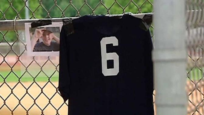 Teammates honor child killed in tragic accident