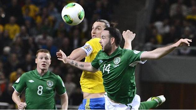 World Cup - Republic of Ireland draw in Sweden