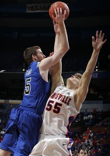 Indiana State slips past Evansville 51-50