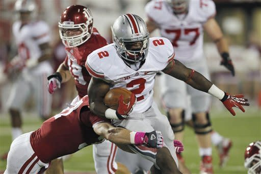 Miller leads No. 8 Buckeyes past Indiana 52-49