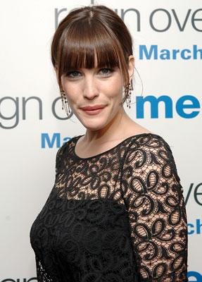 Liv Tyler at the New York premiere of Sony Pictures' Reign Over Me