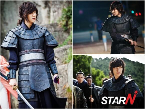 'Faith' Lee Min Ho becomes a charismatic warrior