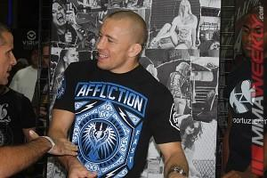 Georges St-Pierre Prepared for a Well Rounded Hendricks at UFC 167