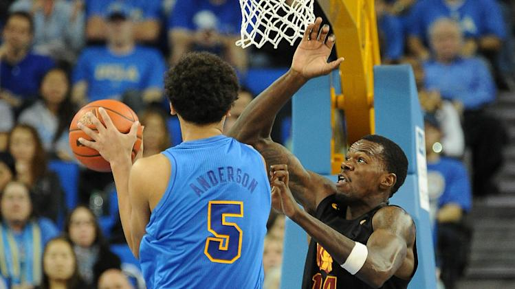 NCAA Basketball: USC at UCLA