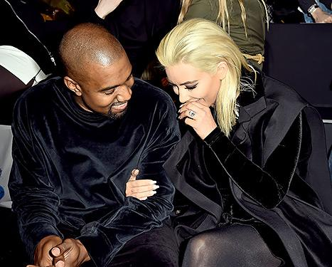 Newly Blonde Kim Kardashian, Kanye West Get Extra Affectionate in Paris: See the Sweet Photos!