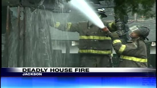 Man killed in Jackson house fire
