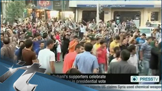 Iran Breaking News: Iran Reformists Dance in Streets for New President