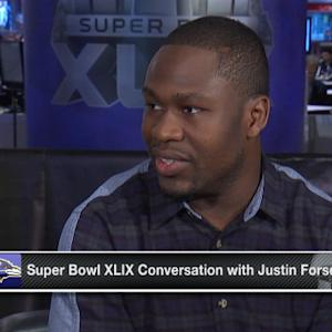 Baltimore Ravens running back Justin Forsett: 'When I got my chance I was ready'