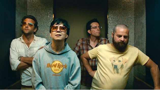 Bradley Cooper Ken Jeong Ed Helms Zach Galifianakis The Hangover Part II Production Stills Warner Bros. 2011
