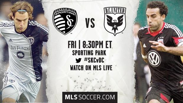 MLS Match Preview: Sporting Kansas City vs. D.C. United