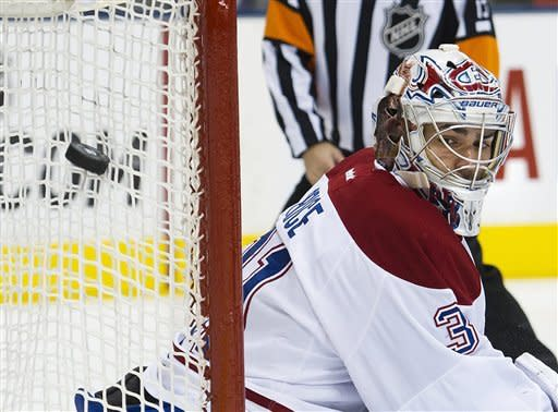 Canadiens rout Leafs 5-0 on Mats Sundin night