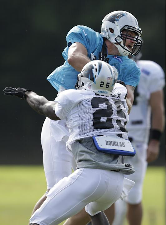 Panthers Camp Football