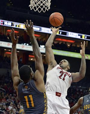 Jones, No. 9 Louisville beat So. Mississippi 69-38